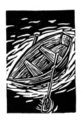 blockprint of rowboat
